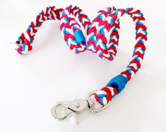 M/L SIZE, 110cm leash, rope, handmade, labrador, border collie, Australian shepherd, akita, boxer