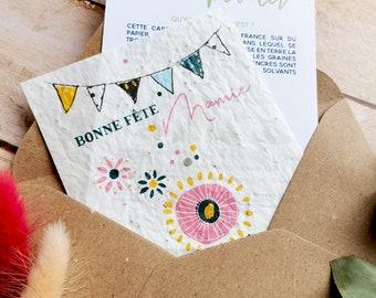 Grandma's Planting Card - Grandmother's Day Card - Grandma's Birthday Card