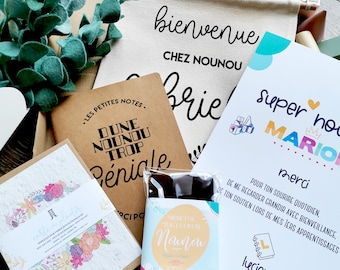 Nanny gift • Nanny gift box • Nanny end of contract gift