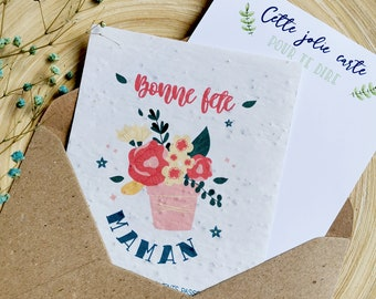 Mom Planting Card - Mother's Day Planting Card - Happy Mother's Day - Happy Mother's Day Card