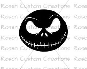 2a3eaf87af2 Jack Skellington svg. jack and sally. nightmare before christmas. halloween