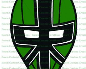 Power ranger mask | Etsy