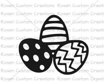 Easter SVG. Eggs. Easter Bunny. Hunt. Chicks. Color.