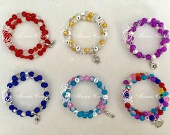 Bracelet memory aid, nursing