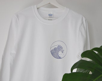 Giant Wave Longsleeve T-shirt