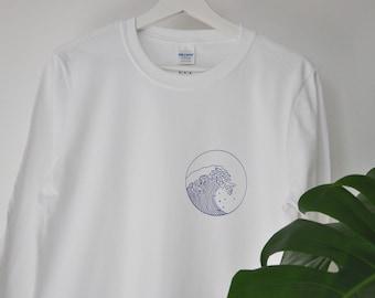 Giant Wave Longsleeve T-shirt
