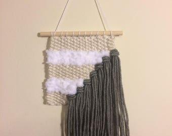 Monotone Stripe Weaving
