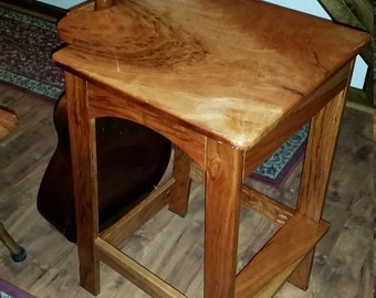 Outstanding Guitar Stool Stand Etsy Ocoug Best Dining Table And Chair Ideas Images Ocougorg