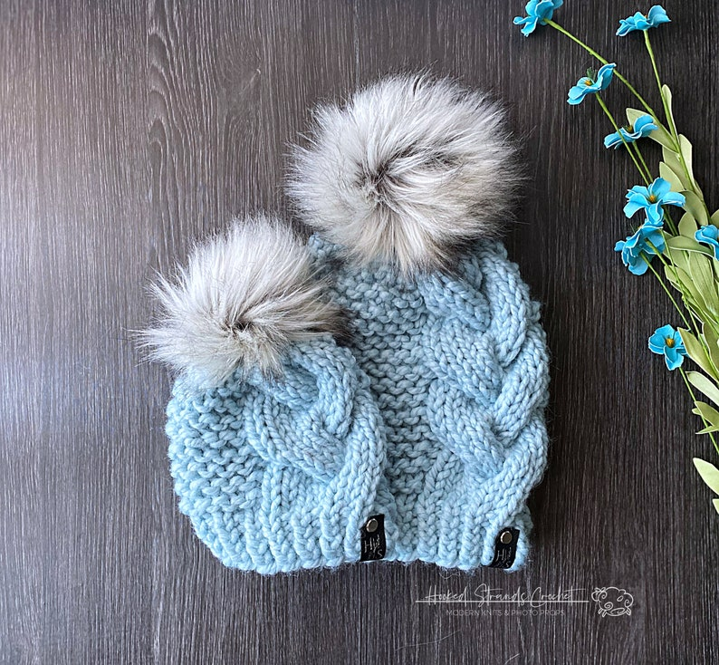 winter hats Mommy and me beanies
