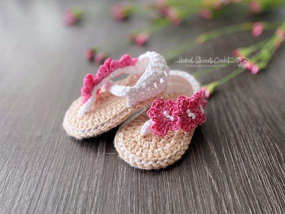 Infant sandals Newborn flip flops