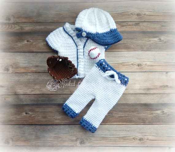 Baseball einheitliche Neugeborenen Foto Outfit Baseball Prop | Etsy