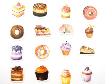 Sweet cakes sticker box collection  -  from ThePinkRoomCo