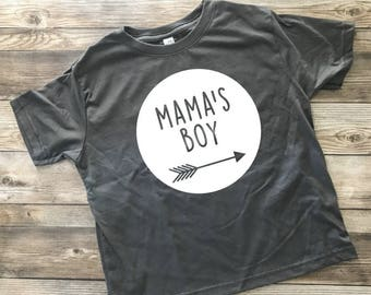 Mama's Boy Shirt, Toddler Shirt, Mama's Sidekick, Mom's Boy, Trendy Baby Clothes, Hipster Baby Clothes, Graphic Tee, Boy T-Shirt, Kid Tops