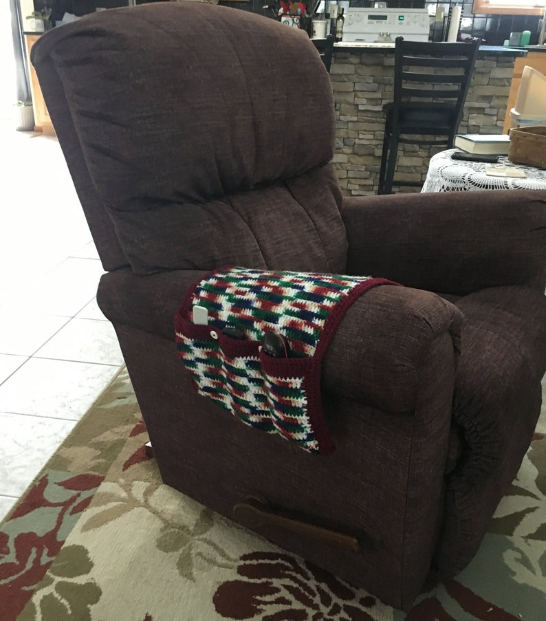 Arm chair organizer