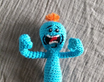 CROCHET PATTERN ONLY** Mr Meeseeks