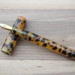 Custom kitless Acrylic Fountain pen - Poe model