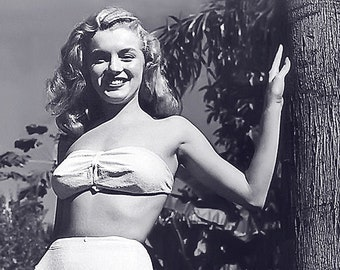 """DD-009 8X10 PUBLICITY PHOTO MARILYN MONROE IN /""""HOW TO MARRY A MILLIONAIRE/"""""""