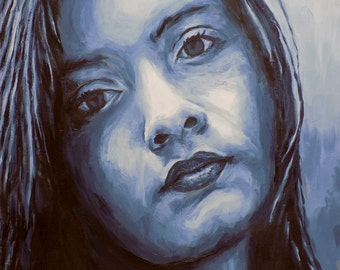 Original painting of a girl