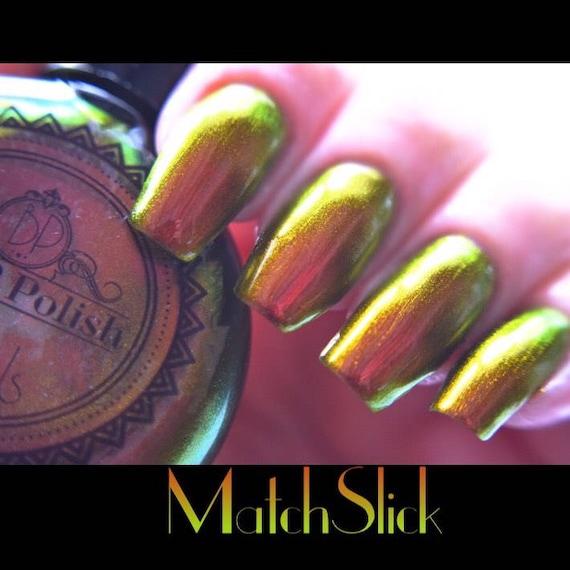 Pop Polish Match Slick Nail Polish Quick Dry Etsy