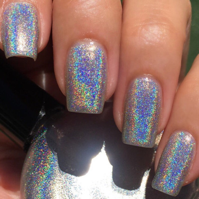 POP Polish Indie Nailpolish Nail Holo Mega Holographic | Etsy