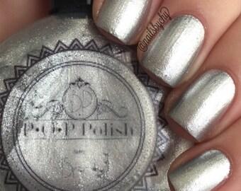 """P•O•P Polish Indie Nailpolish Nail Mirror """"Mercury."""""""