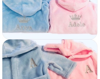 176a382346 Personalised Baby Dressing Gown