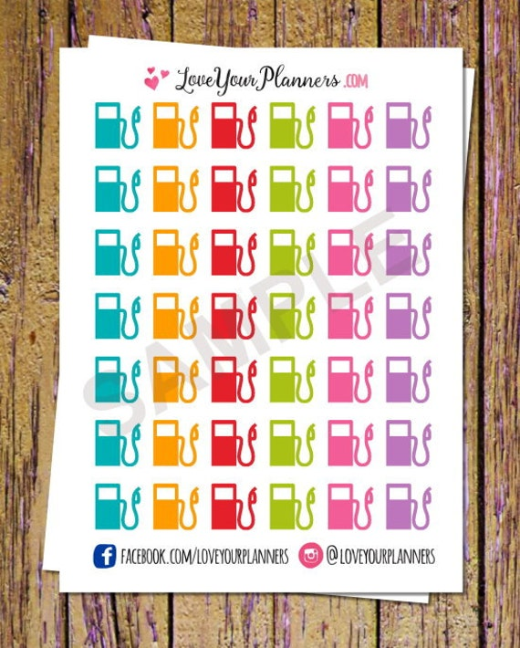 Weight Dumbbell Workout Planner Stickers for Erin CondrenHappy Planner A111