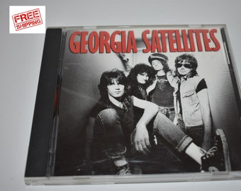 Georgia Satellites - Georgia Satellites 1986 CD, Rock and Roll, Rock, Elektra Records,Georgia Satellites Rock N Roll,Georgia Satellites Rock