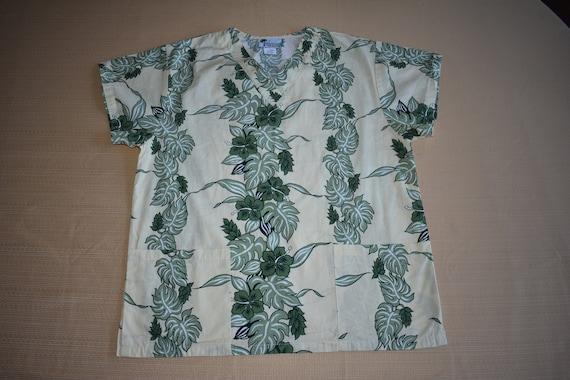 Womens XS Vintage Uniforms of Hawaii Lightweight … - image 2