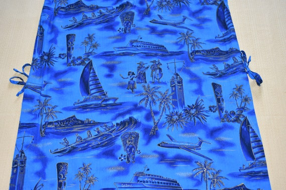 Womens Vintage Vivid Blue Dress by Fashions of Ha… - image 8