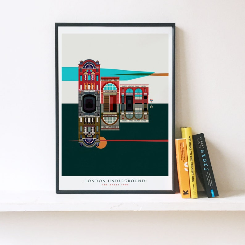14d1134d963 London Underground The Ghost Tube Stations Illustrated