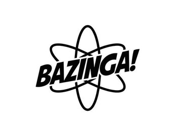 Bazinga Atom Decal