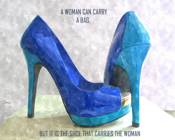 8691994cebab It Is The Shoe That Carries the Woman Shoes Fashion High Heels