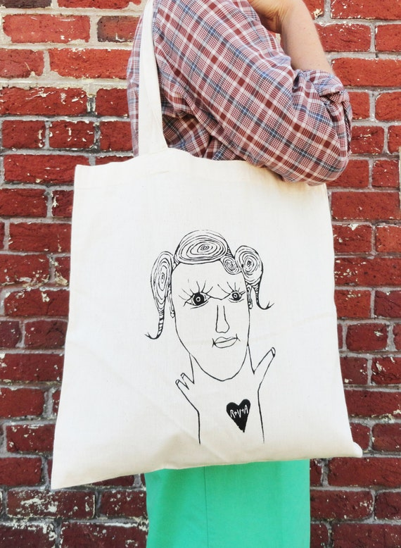 Log Girl from RVA - Tote