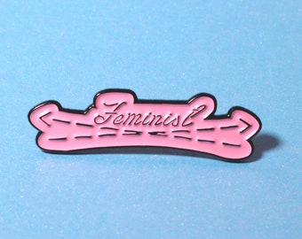 intersectional feminist, enamel pin, enamel pins, pin badge, lapel pin, hat pin, hat pins,  feminist pin, feminist gift, coworker gift