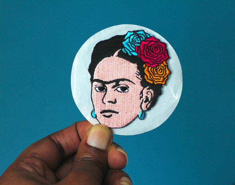 frida patch patches iron on patch embroidered patch image 0