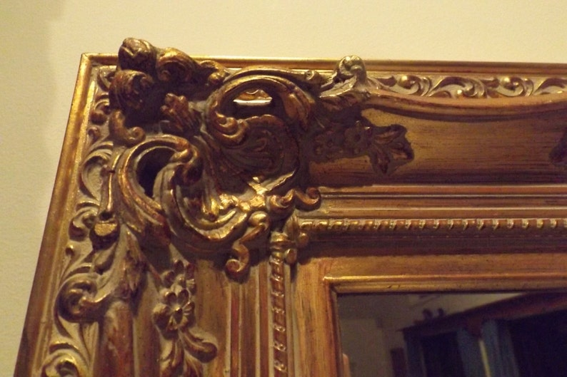 bc82ca3f4db Sale RARE Barocco open work antique hand carved wooden frame
