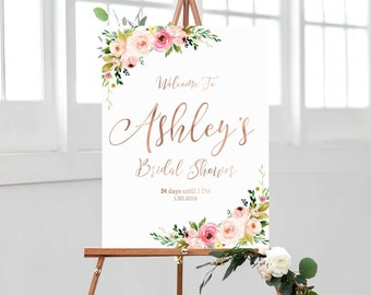 fc9cd168a49d Bridal shower welcome sign