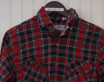 68611b05bd27 1960's Champion Flannel Shirt - Size Small