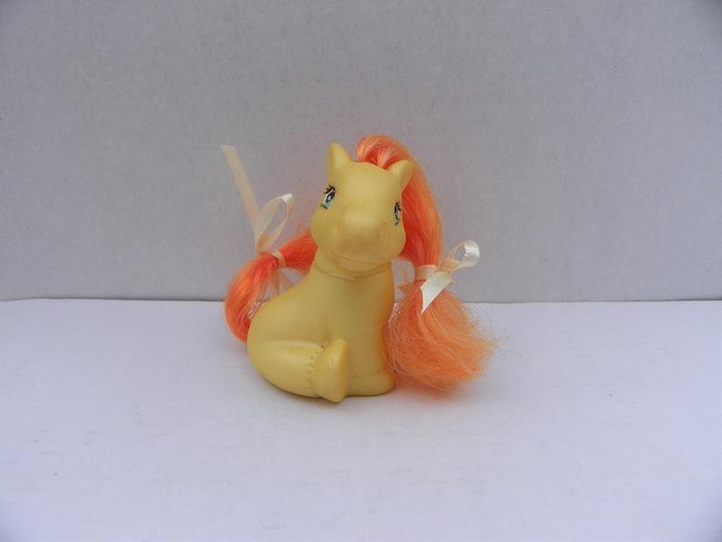 Miniature Toy Pony My Little Pony Clone Lanard Pony Tails Baby 1997 Lanard Baby Pony My Little Phony Vintage Fakie My Little Pony