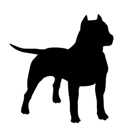 "6.5/"" PITBULLS vinyl decal car window laptop sticker dog pit bulls i love heart"