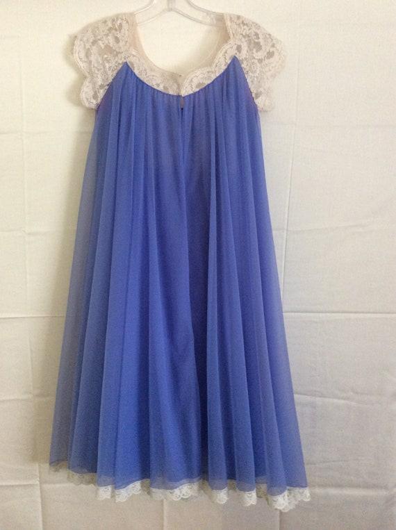 Sky Blue Peignoir Set , by LUCIE ANN of Beverlly H