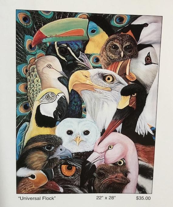 Wall art/ Prints/ Bird art/ Wall decor/Wildlife art