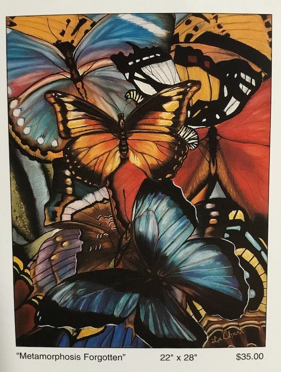 Butterfly art/Wall Art/Monarch butterflies/Prints and Posters