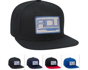 ef3347c10eb Jurassic World ACU Asset Containment Unit park movie iron on patch Flat  Bill hip hop caps and Trucker hats