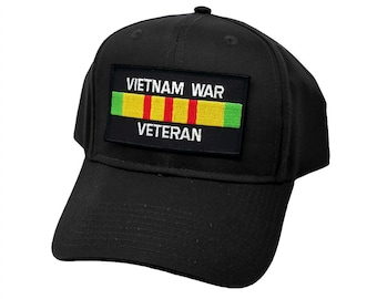 239c7a64da920 Vietnam War Veteran Ribbon Military Patch Snapback Baseball Cap Hat by  Project T
