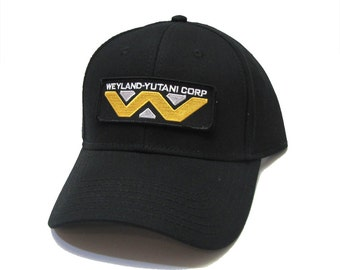 663d91b06 ALIEN Movie Weyland Yutani Corp Sci-Fi Patch Snapback Cap or Mesh Back  Trucker Hat