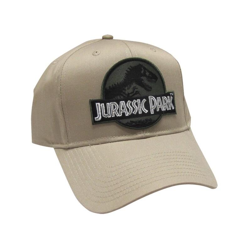 b6cf4479c Jurassic Park Movie Logo Forest Green/ Desert Sci fi Patch   Etsy