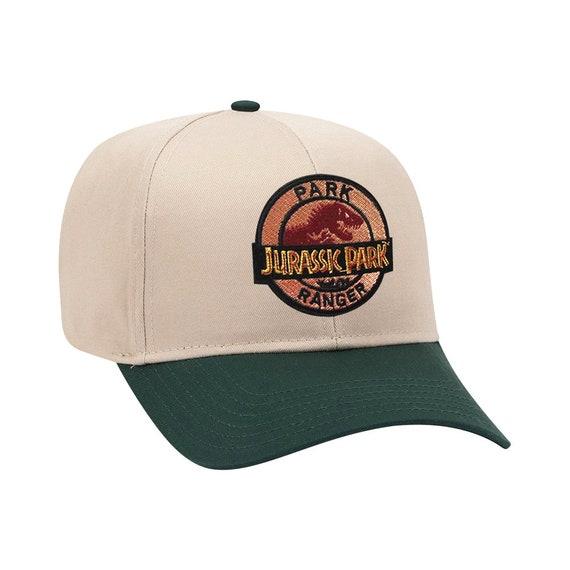 Jurassic Park Park Ranger Hat SnapBack Trucker Mesh Cap Handcrafted in the USA!