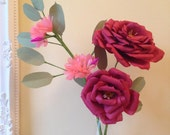Paper Roses and Jasmine Flowers
